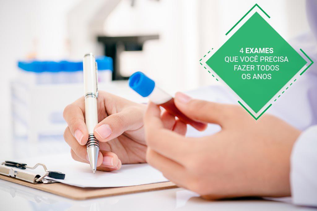 bb69a0e22f795 4 exames de check-up que você precisa fazer todos os anos   Labormac